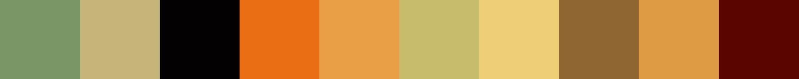 240 Grestaza Color Palette