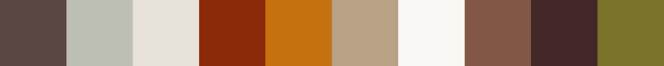 257 Oxyparia Color Palette
