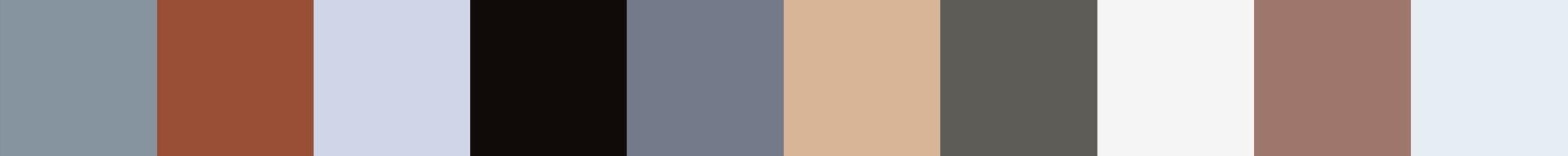 258 Kasetube Color Palette