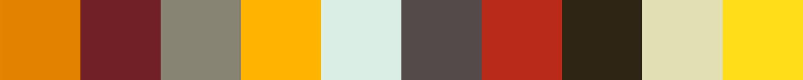 26 Tewana Color Palette