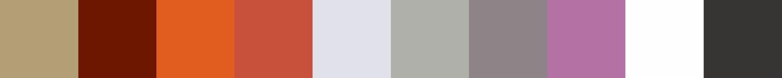 267 Ntercora Color Palette