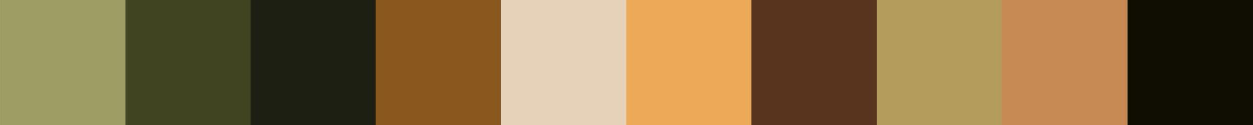 29 Pidrama Color Palette