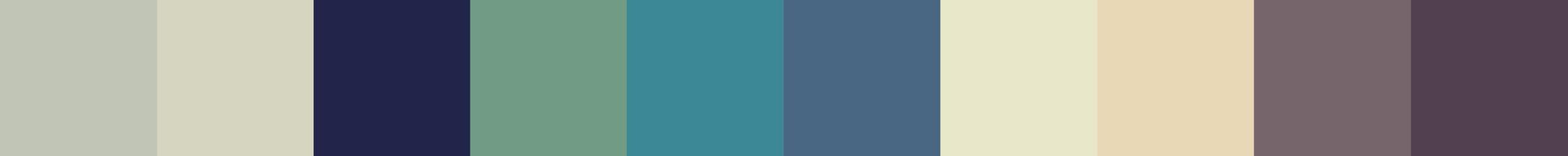 297 Apohephia Color Palette