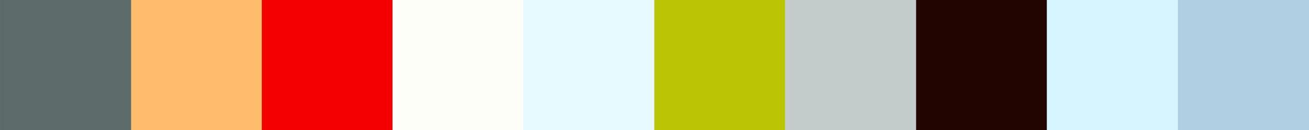 321 Latomatia Color Palette