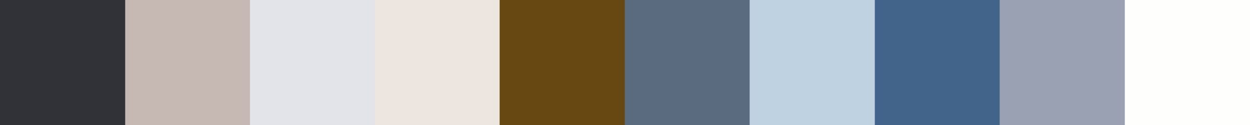 365 Mechadisia Color Palette