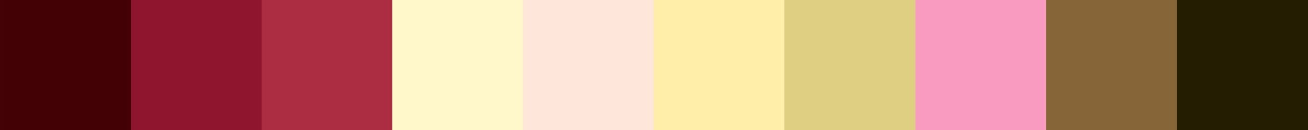 386 Vrederpia Color Palette
