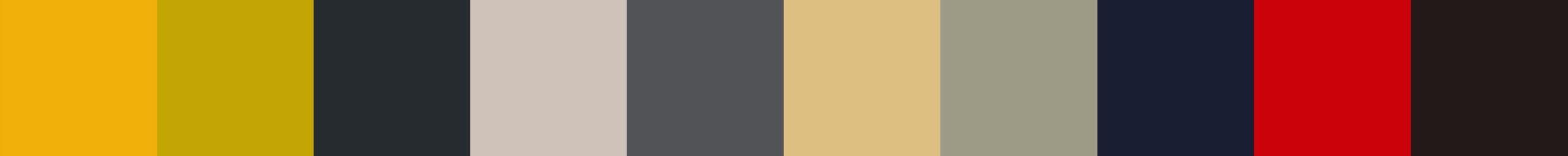 392 Fedialistica Color Palette