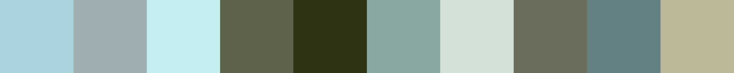 401 Firalka Color Palette
