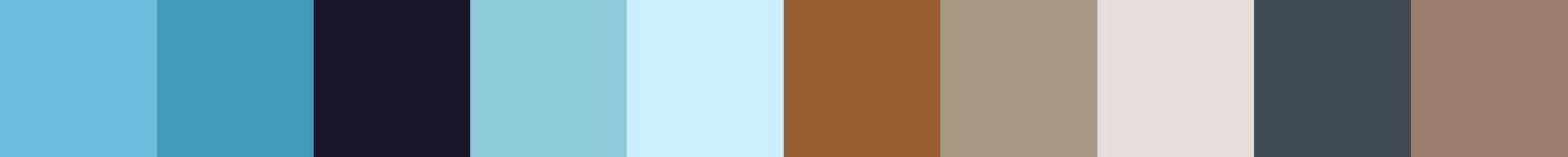 406 Lestavia Color Palette