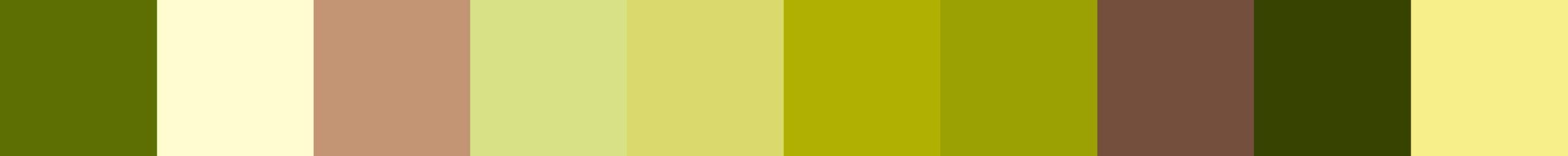 419 Ortaza Color Palette
