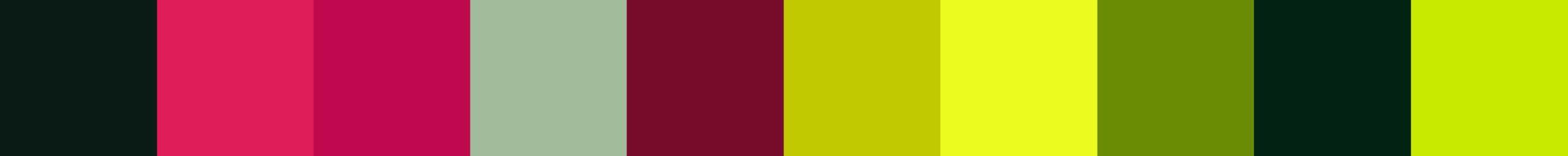43 Deriana Color Palette