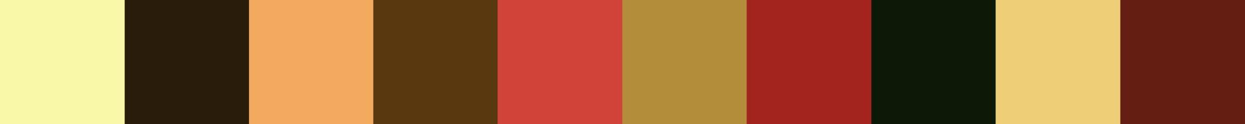 477 Vermel Color Palette
