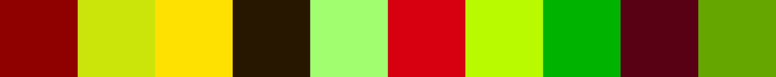 484 Pecalcia Color Palette