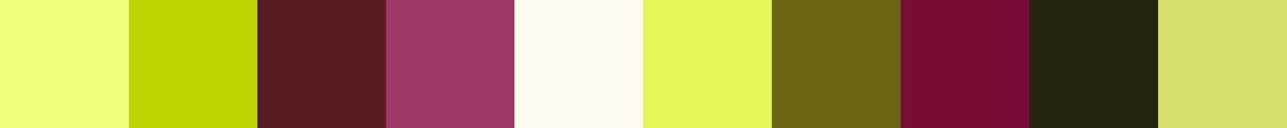 486 Graloira Color Palette