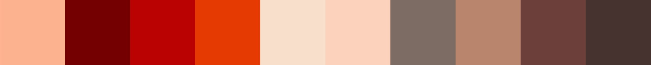 503 Sistazza Color Palette