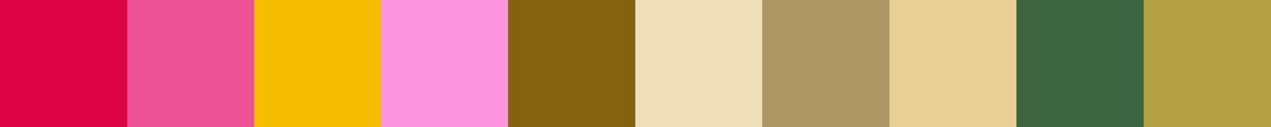 511 Vorbela Color Palette