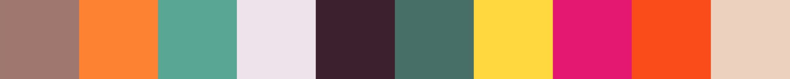 518 Aurnia Color Palette