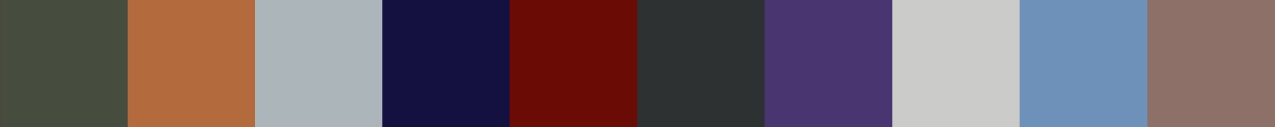 548 Atalante Color Palette