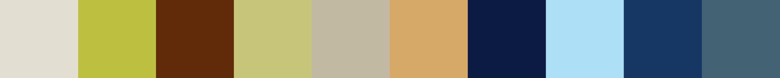 55 Kouava Color Palette