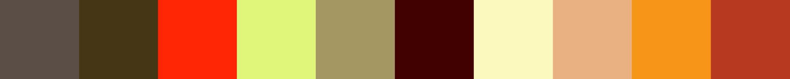553 Gaelic Color Palette