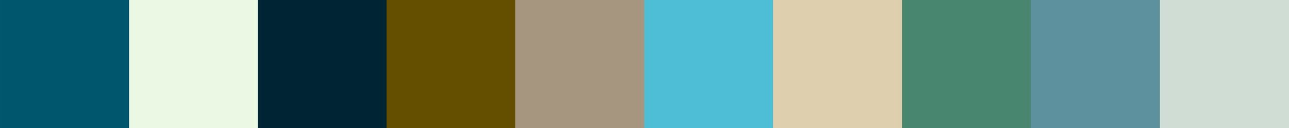 564 Anteia Color Palette