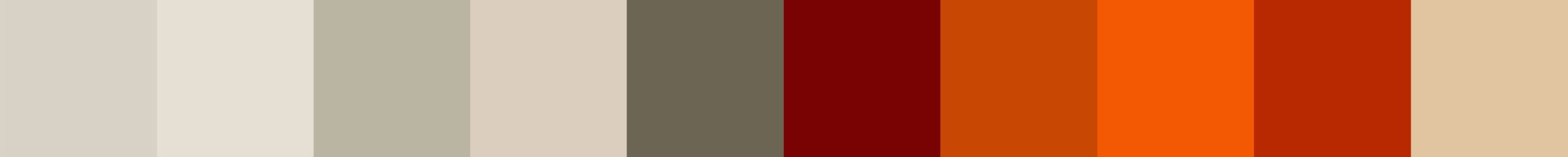 598 Oriel Color Palette