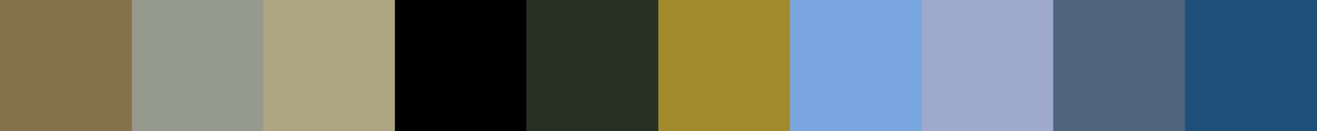 599 Kirolima Color Palette