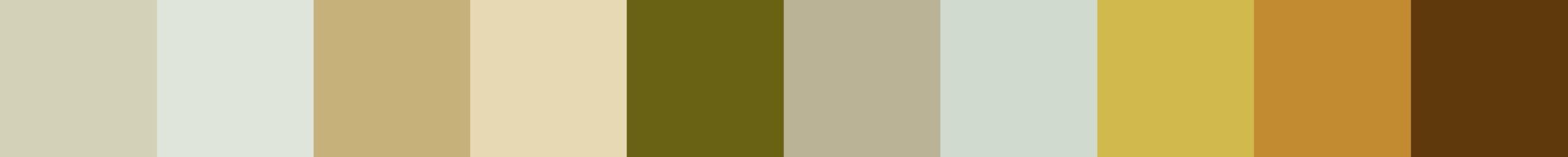 604 Detroza Color Palette