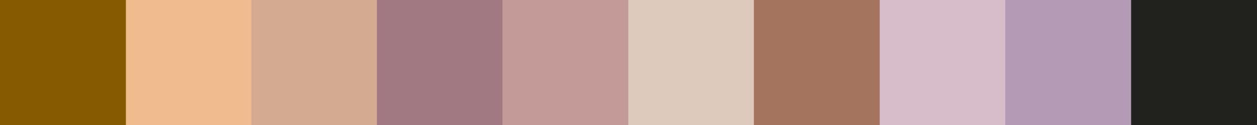 609 Lesiama Color Palette