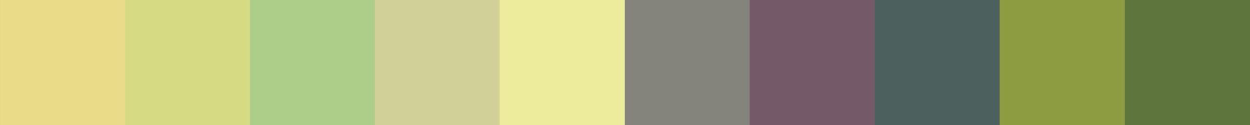 634 Liomata Color Palette