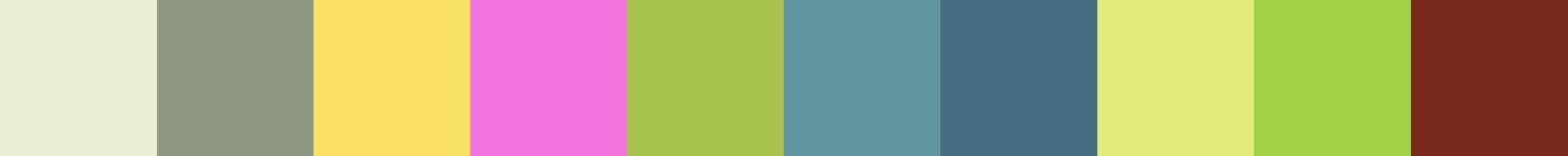 646 Imania Color Palette
