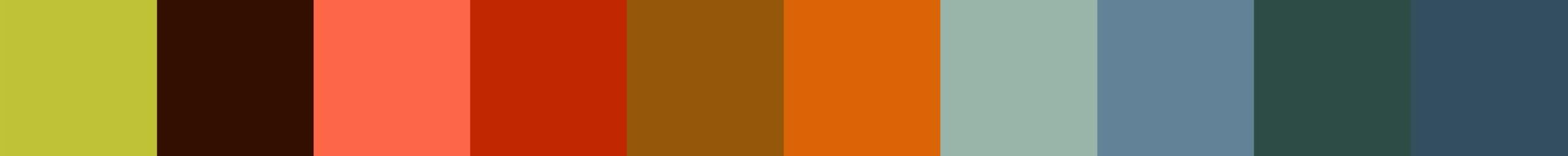 662 Krelia Color Palette