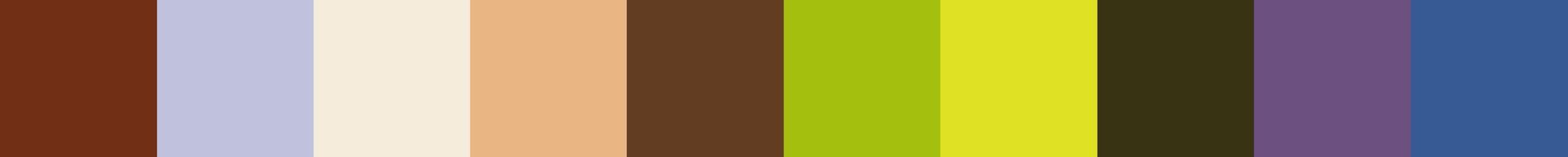 663 Poulkara Color Palette
