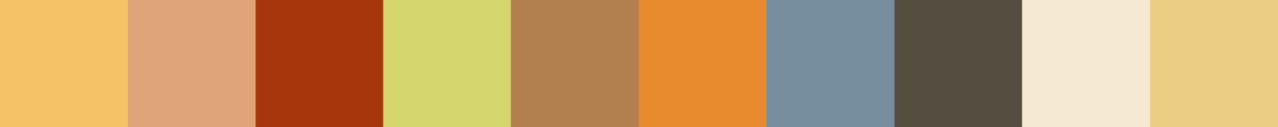 667 Erenolia Color Palette