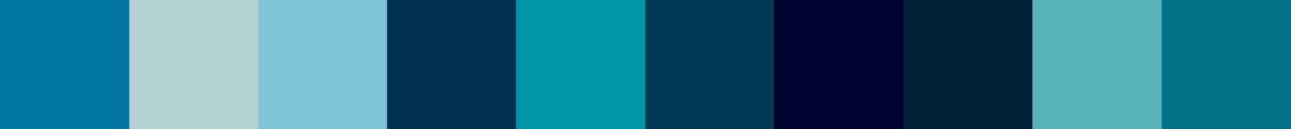 67 Ydroza Color Palette