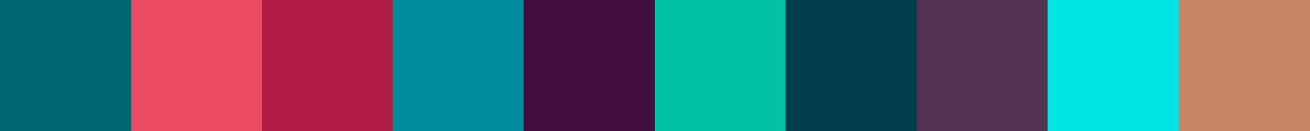 684 Jorapona Color Palette