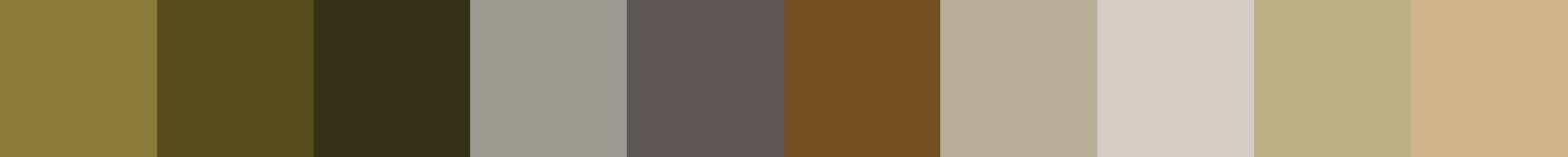 694 Zoistera Color Palette