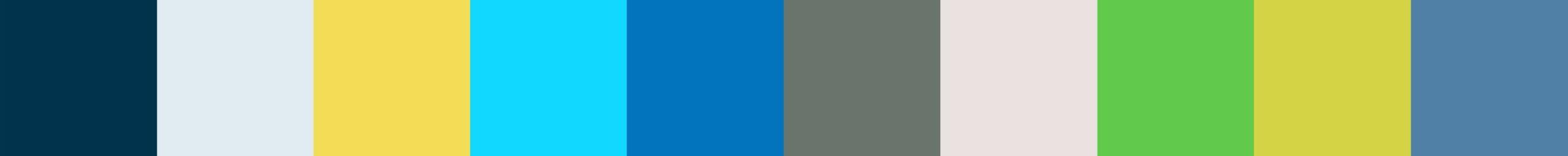 695 Wertoza Color Palette