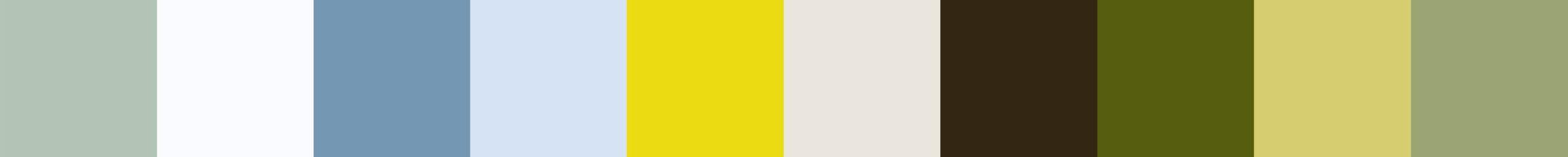 70 Peroudia Color Palette