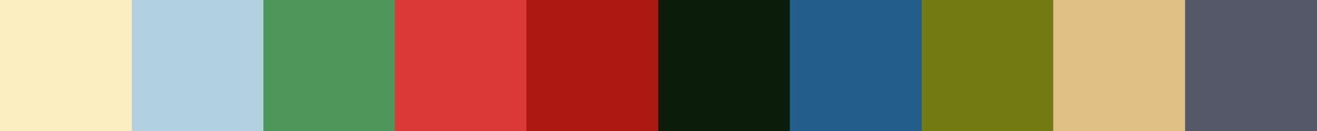 708 Keridinia Color Palette