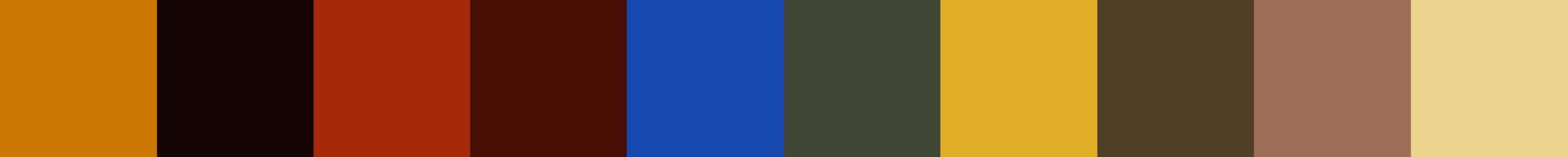 709 Locrahoma Color Palette