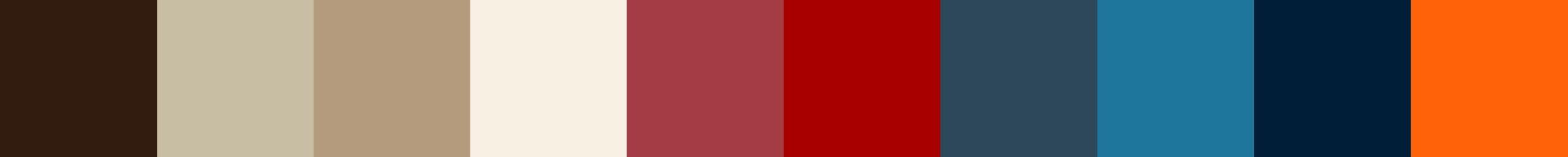 716 Hikra Color Palette