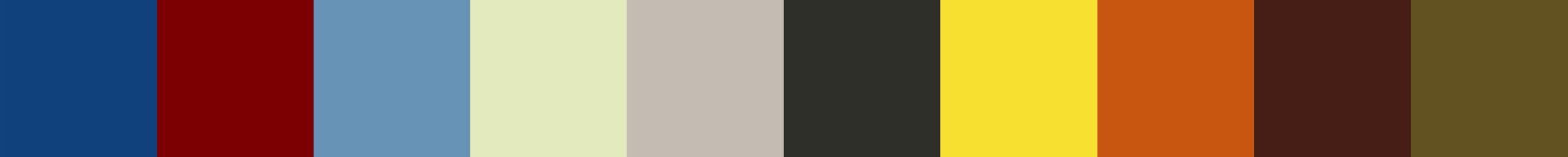 720 Ktopia Color Palette