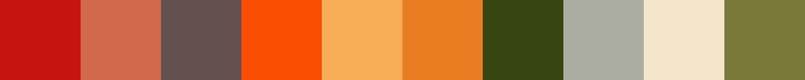 725 Sloderna Color Palette