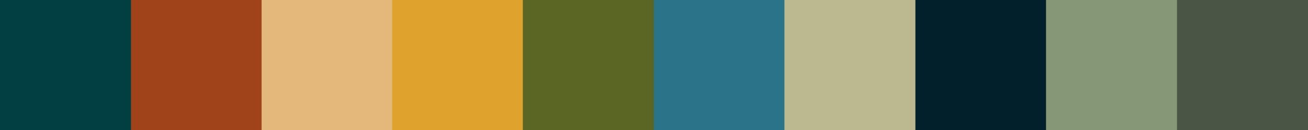 726 Silopronia Color Palette