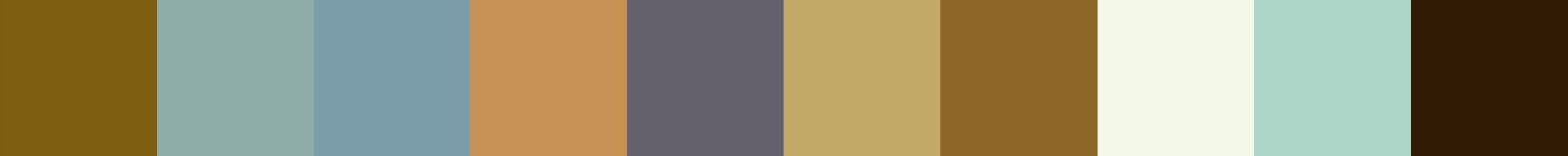 737 Chigreda Color Palette