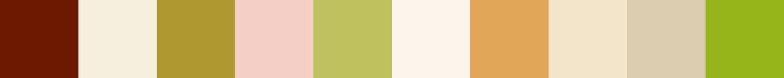 764 Droppia Color Palette