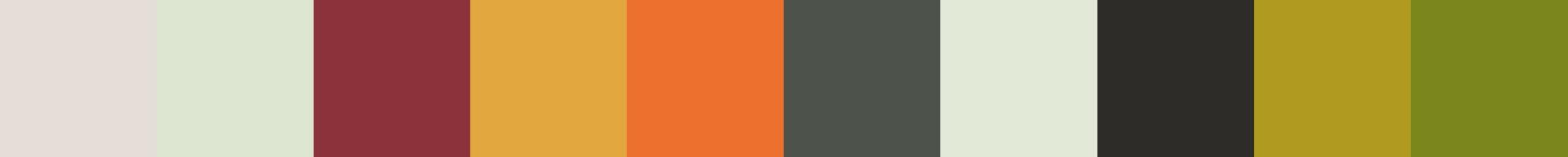 768 Flogea Color Palette
