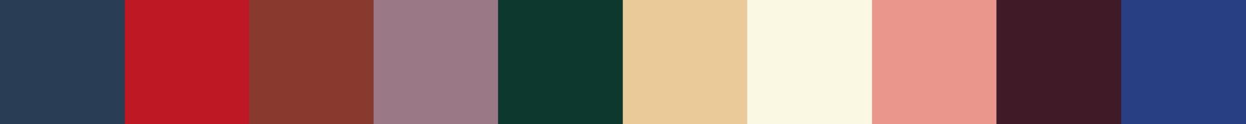 775 Pyrea Color Palette