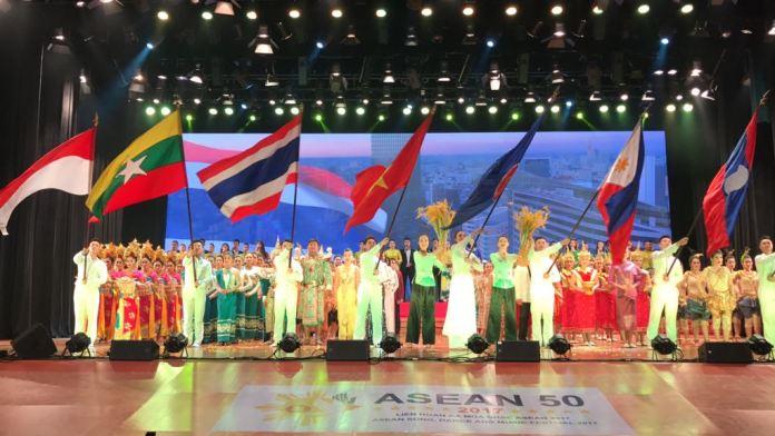 Perayaan 50 tahun ASEAN